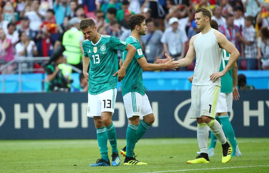 Đương kim vô địch Đức bị loại - Ảnh 1.
