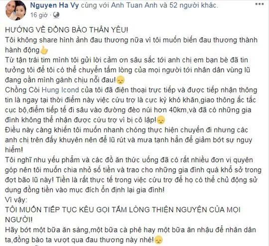 Sao Việt chung tay giúp người dân Hà Giang gặp nạn do mưa lũ - Ảnh 3.