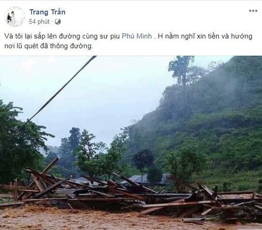 Sao Việt chung tay giúp người dân Hà Giang gặp nạn do mưa lũ - Ảnh 6.