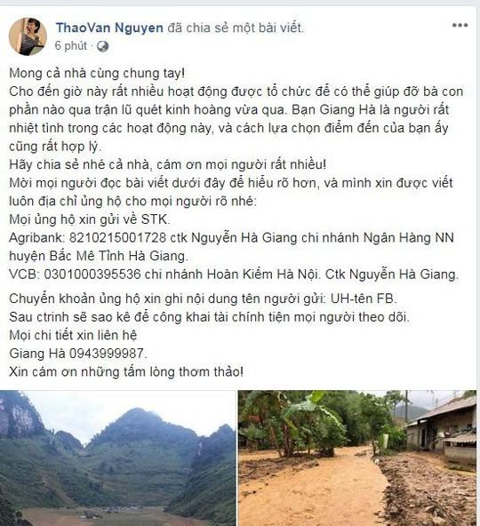 Sao Việt chung tay giúp người dân Hà Giang gặp nạn do mưa lũ - Ảnh 8.