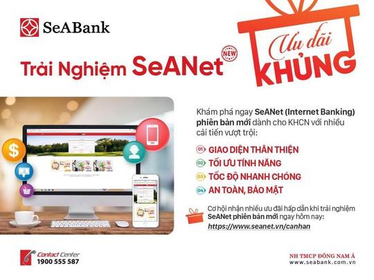 Phiên bản Internet Banking hoàn toàn mới của SeABank có gì hấp dẫn? - Ảnh 2.