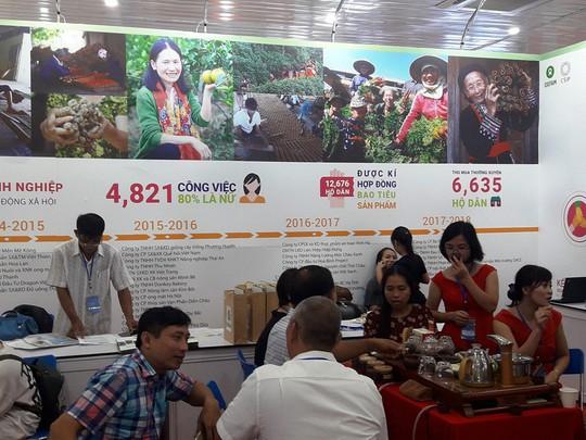 180 gian hàng tham gia Hội chợ Triển lãm Nông nghiệp Quốc tế lần thứ 18 - Ảnh 1.