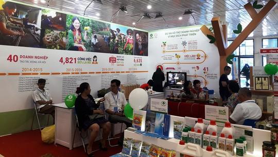 180 gian hàng tham gia Hội chợ Triển lãm Nông nghiệp Quốc tế lần thứ 18 - Ảnh 2.