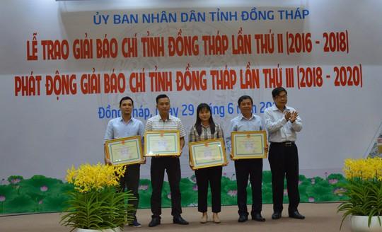 Báo Người Lao Động đạt giải B Giải Báo chí tỉnh Đồng Tháp lần thứ II - Ảnh 1.