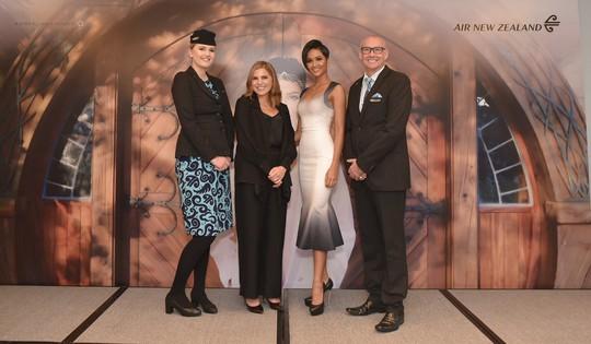 Hoa hậu H'Hen Niê đồng hành cùng Air New Zealand - Ảnh 1.