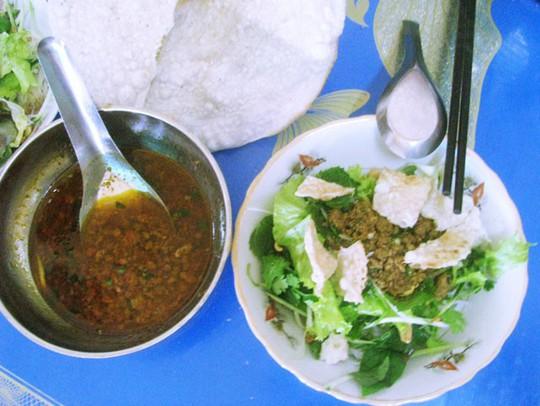 Bún rạm, món ngon mà hiếm thấy ở vùng biển Quy Nhơn - Ảnh 1.