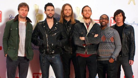 Maroon 5 đang thành tiêu điểm âm nhạc thế giới - Ảnh 1.