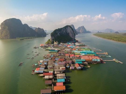 Ko Panyi: Ngôi làng nổi độc đáo ở Thái Lan - Ảnh 1.