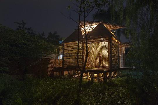 Ngôi nhà bằng tre đoạt nhiều giải thưởng kiến trúc thế giới - Ảnh 2.