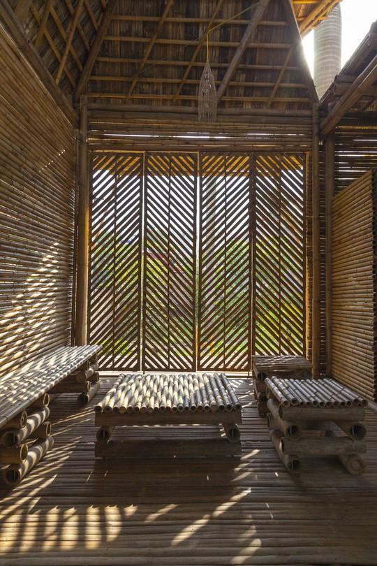 Ngôi nhà bằng tre đoạt nhiều giải thưởng kiến trúc thế giới - Ảnh 11.