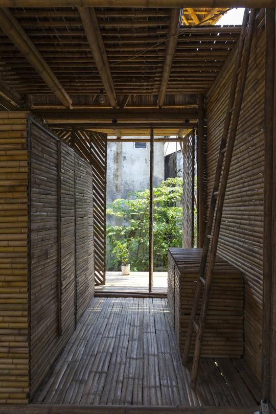 Ngôi nhà bằng tre đoạt nhiều giải thưởng kiến trúc thế giới - Ảnh 12.