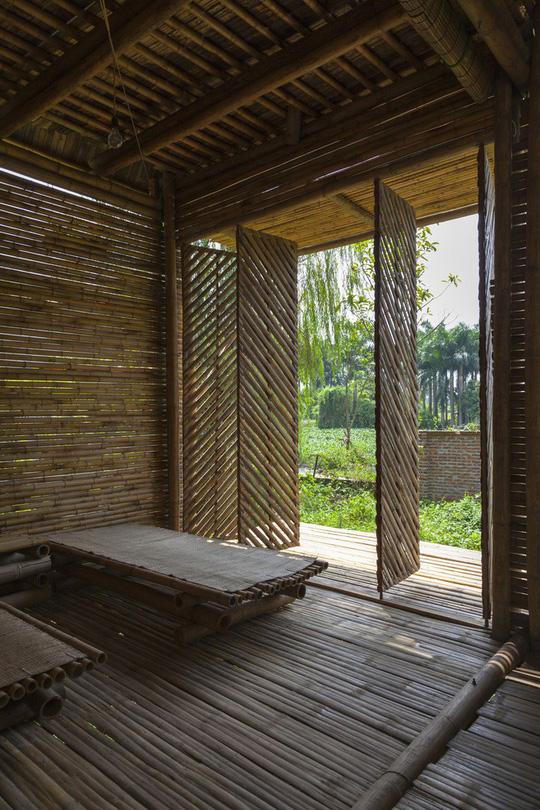 Ngôi nhà bằng tre đoạt nhiều giải thưởng kiến trúc thế giới - Ảnh 13.