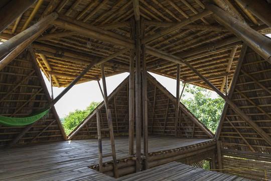 Ngôi nhà bằng tre đoạt nhiều giải thưởng kiến trúc thế giới - Ảnh 15.
