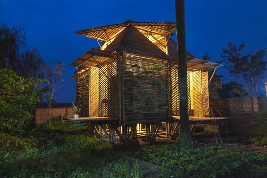 Ngôi nhà bằng tre đoạt nhiều giải thưởng kiến trúc thế giới - Ảnh 3.