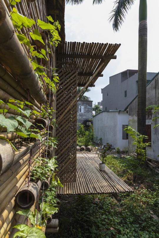 Ngôi nhà bằng tre đoạt nhiều giải thưởng kiến trúc thế giới - Ảnh 6.