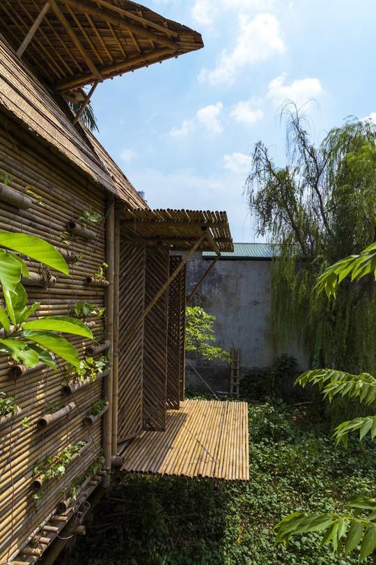 Ngôi nhà bằng tre đoạt nhiều giải thưởng kiến trúc thế giới - Ảnh 8.