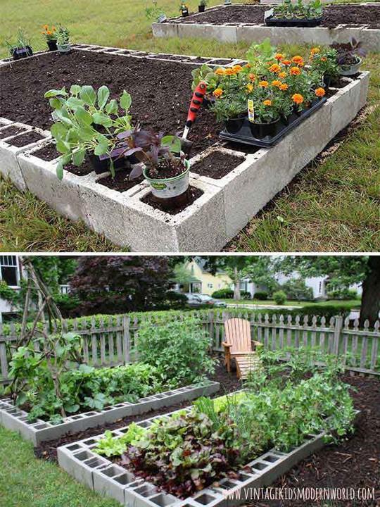 Sáng tạo này sẽ biến đất trống thành vườn rau đẹp - Ảnh 12.