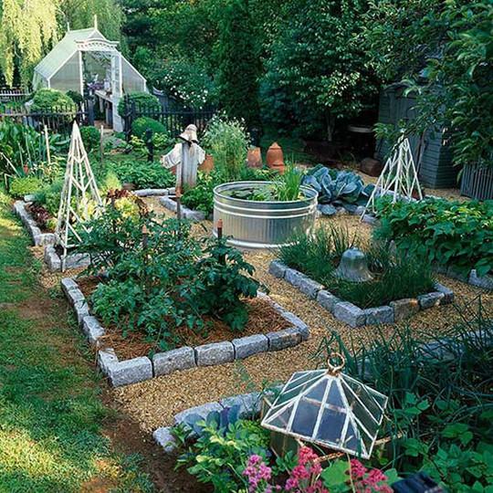 Sáng tạo này sẽ biến đất trống thành vườn rau đẹp - Ảnh 5.