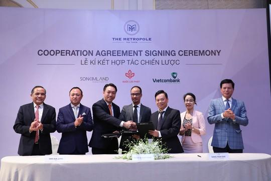 Quốc Lộc Phát, SonKim Land và Vietcombank bắt tay phát triển dự án - Ảnh 1.