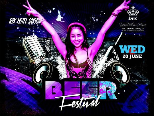 BEER FESTIVAL: Thỏa sức uống bia, bùng cháy cùng âm nhạc tại Rooftop Garden Bar - Ảnh 1.