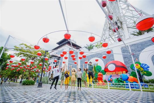 Hàng ngàn đèn lồng sẽ thắp sáng Sun World Danang Wonders suốt một tháng - Ảnh 1.