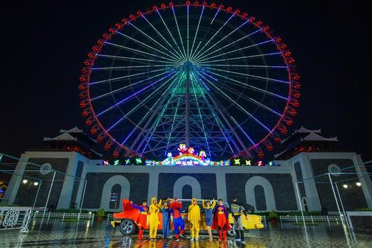 Hàng ngàn đèn lồng sẽ thắp sáng Sun World Danang Wonders suốt một tháng - Ảnh 2.