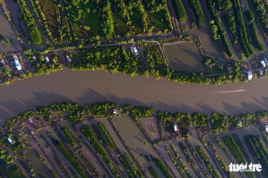Ngắm khu dự trữ sinh quyển thế giới Mũi Cà Mau từ trên cao - Ảnh 12.