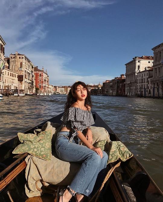 Venice đẹp như giấc mơ trong loạt ảnh check-in của sao Việt - Ảnh 9.