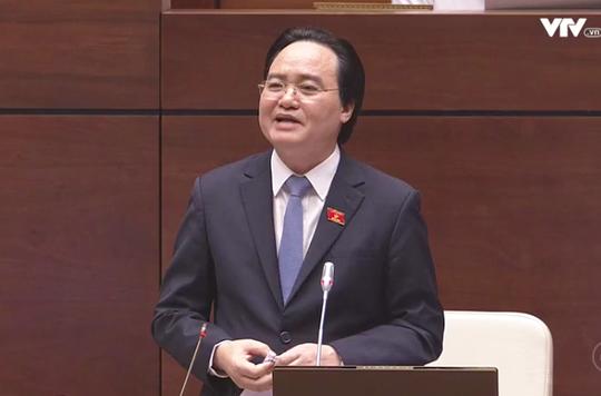 Ông Phùng Xuân Nhạ: Là bộ trưởng, tôi rất phản đối bạo hành trẻ mầm non - Ảnh 2.