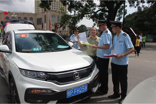 Đã có gần 100 lượt xe du lịch tự lái Trung Quốc vào Việt Nam - Ảnh 1.