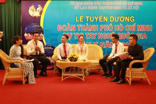 TP HCM xếp thứ nhì tại kỳ thi tay nghề quốc gia - Ảnh 1.