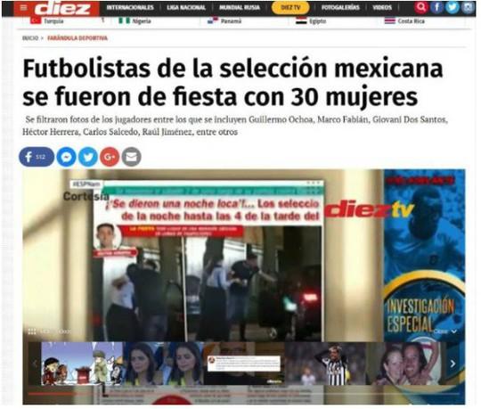 8 tuyển thủ Mexico dính nghi án thác loạn với 30 gái gọi trước World Cup - Ảnh 3.