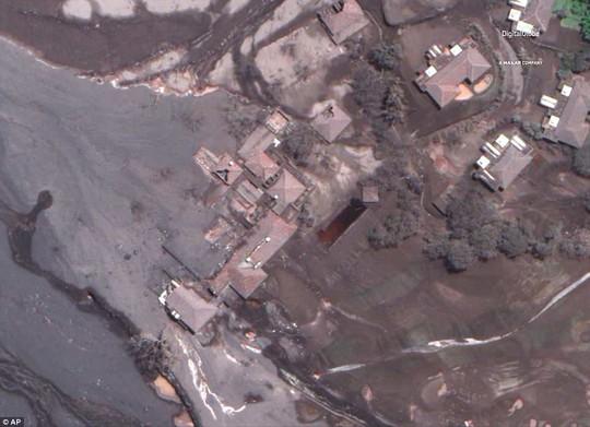 Khốc liệt hình ảnh trước và sau thảm họa núi lửa ở Guatemala - Ảnh 6.