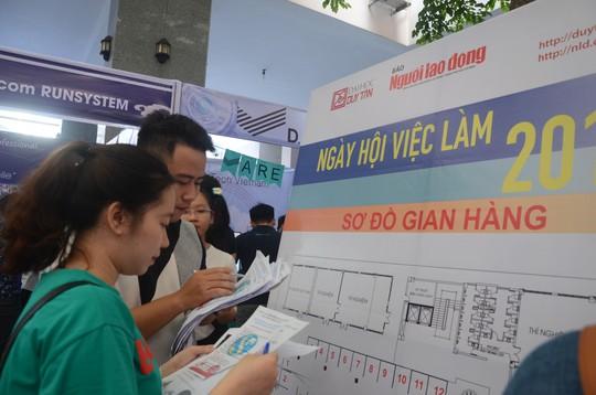 Gần 100 doanh nghiệp tham gia ngày hội việc làm tại Đà Nẵng - Ảnh 4.
