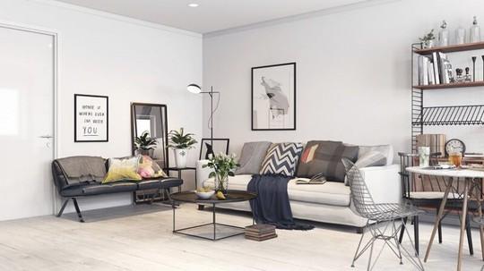 Thiết kế phòng khách đơn giản mà đẹp cho năm 2018 - Ảnh 6.