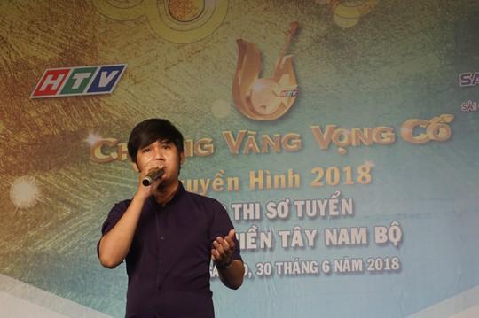 NS Vo Minh Lam Ho Ngoc Trinh ngoi ghe nong cuoc thi Chuong vang vong co