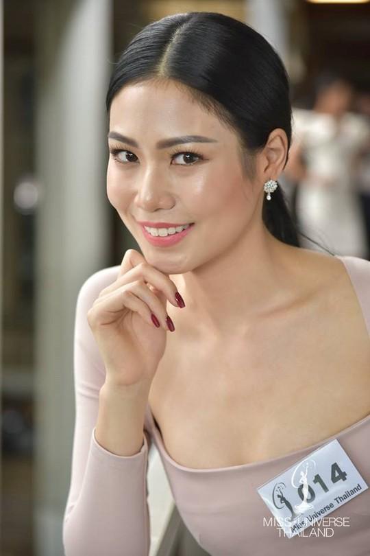 Nhan sắc Tân Hoa hậu Hoàn vũ Thái Lan gây tranh cãi - Ảnh 3.