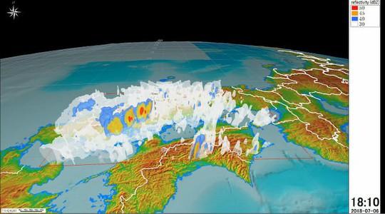 Bão chồng bão siêu tốc khiến Nhật Bản thương vong lớn - Ảnh 1.