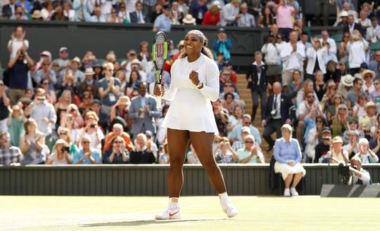 Thể hiện đẳng cấp vượt trội, Serena Williams xuất sắc vào bán kết Wimbledon - Ảnh 7.