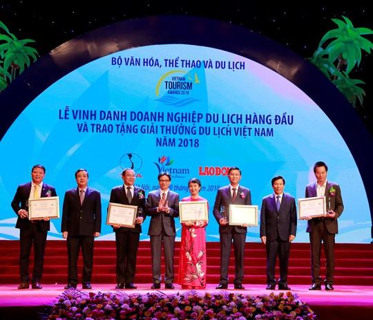 Vinpearl thắng lớn tại Giải thưởng Du lịch Việt Nam 2018 - Ảnh 1.
