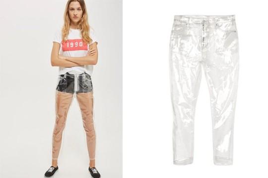 Quần jeans trong suốt khoe nội y, thiết kế táo bạo Xuân Hè 2018 - Ảnh 3.