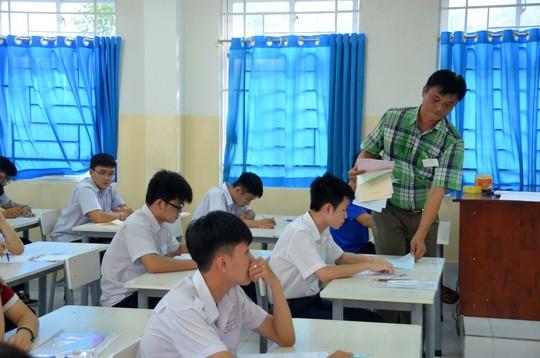 Quy trình và mẫu đơn phúc khảo bài thi THPT quốc gia - Ảnh 1.