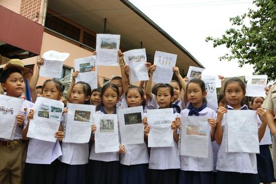 Báo Người Lao Động từ Chiang Rai: Người Thái ăn mừng thâu đêm suốt sáng - Ảnh 4.