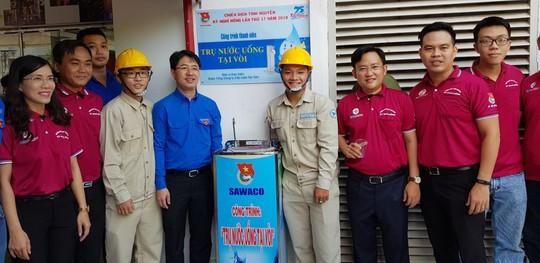 Đoàn Tổng Công ty Cấp nước Sài Gòn ra quân chiến dịch tình nguyện Kỳ nghỉ hồng 2018 - Ảnh 2.