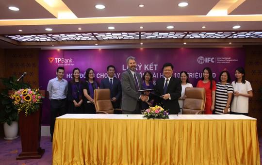 IFC thu xếp khoản vay dài hạn 100 triệu USD cho TPBank - Ảnh 1.