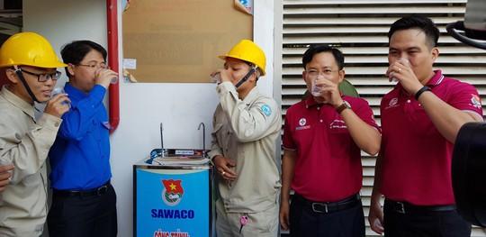 Đoàn Tổng Công ty Cấp nước Sài Gòn ra quân chiến dịch tình nguyện Kỳ nghỉ hồng 2018 - Ảnh 3.