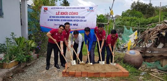 Đoàn Tổng Công ty Cấp nước Sài Gòn ra quân chiến dịch tình nguyện Kỳ nghỉ hồng 2018 - Ảnh 4.