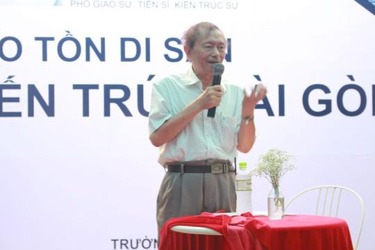 Bảo tồn di sản kiến trúc Sài Gòn là việc cấp bách - Ảnh 1.