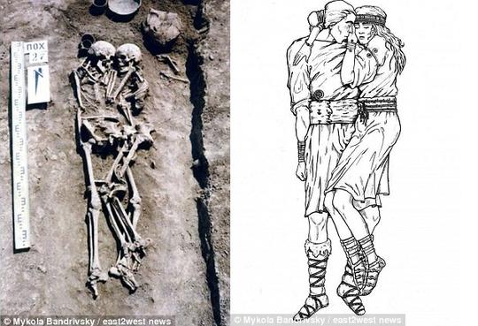 Sự thật gây sốc về cặp đôi ôm nhau 3.000 năm trong mộ cổ - Ảnh 2.