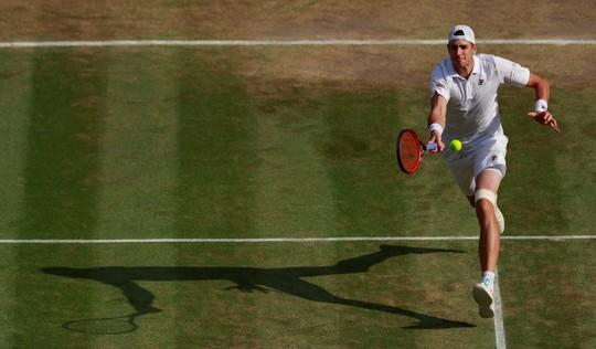Loại Isner, Kevin Anderson vào chung kết Wimbledon - Ảnh 5.